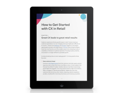 How to Get Started with CX in Retail